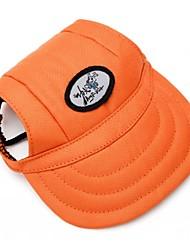 Недорогие -Кошка Собака Банданы и шляпы Одежда для собак Оранжевый