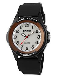 cheap -SKMEI® Men's Sporty Design LED Backlight Quartz Wrist Watch Cool Watch Unique Watch
