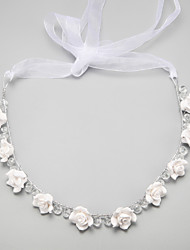 Women's Flower Girl's Alloy Imitation Pearl Headpiece-Wedding Special Occasion Headbands 1 Piece