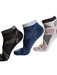 cheap -Men's Hiking Socks 3 Pairs Socks Thermal / Warm / Quick Dry / Wearable for Camping / Hiking / Hunting / Fishing