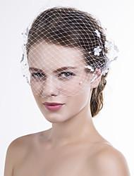 Donne A rete Copricapo-Matrimonio Occasioni speciali Casual Veli corti 1 pezzo