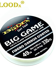 cheap -300M / 330 Yards Fluorocarbon Line Fishing Line 40LB / 30LB / 25LB 0.173/0.193/0.219/0.246/0.276/0.298/0.35/0.39/0.405/0.467/0.5/0.6 mm mm 147 Jigging / Sea Fishing / Fly Fishing / Bait Casting