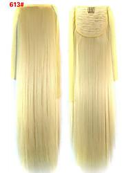 abordables -Pelo sintético Pedazo de cabello La extensión del pelo Recto