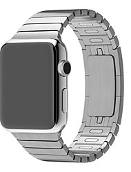 cheap -Watch Band for Apple Watch 3 38mm 42mm Stainless Steel Link Metal Watchband Wrist Strap