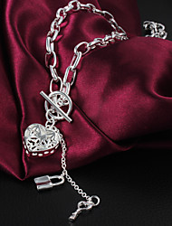 2016 Love Lock Necklace Beauty Silver Necklace For Women&Lady