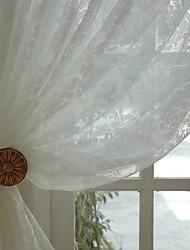 Недорогие -готовые экологически чистые занавески шторы две панели жаккард / спальня