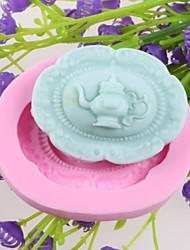 Недорогие -хип колбу помадные торт шоколадный силиконовые формы, формы для выпечки украшение инструменты