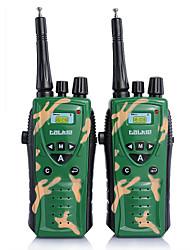 Недорогие -2 раза дети армия зеленый радио УВЧ двусторонней радиосвязи