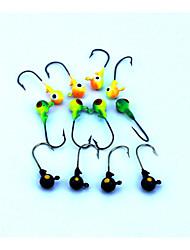 """16 pc Esca Jig Esca metallica Jig Head Colori casuali g/Oncia,35 mm/1-3/8"""" pollice,Plastica dura Fili MetalloPesca di mare Pesca di acqua"""
