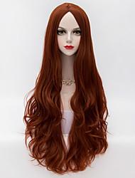 Wigs for Women Auburn Wavy Long Hair Costume Wigs Cosplay Wigs