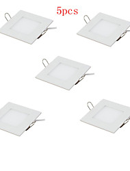 cheap -HRY 3000/6500 lm LED Panel Lights Recessed Retrofit 15 leds High Power LED Warm White Cold White AC 85-265V