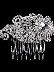 cheap -Rhinestone Hair Combs Headpiece