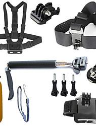 お買い得  -アクセサリー バッグ ねじ Sog ストラップ ハンドグリップ 取付方法 高品質 ために アクションカメラ フリーサイズ Gopro 5 Gopro 4 Silver Gopro 4 Gopro 3 Gopro 2 Gopro 1 Sport DV Gopro 3/2/1