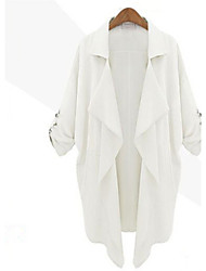cheap -Women's Casual/Daily Casual Spring Fall Jacket