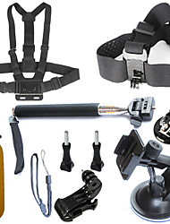 Accessori per GoPro,Sacchetti Vite Con bretelle Impugnature MontaggioPer-Action cam,Xiaomi Camera Gopro All Hero 5/4/3/3+/2/1 Garmin virB