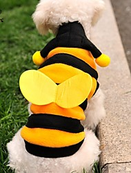 cheap -Cat Dog Costume Hoodie Dog Clothes Cute Cosplay Animal Yellow Costume For Pets