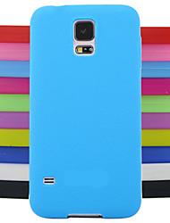 economico -Custodia Per Samsung Galaxy Samsung Galaxy Custodia Per retro Tinta unita Silicone per S4 Mini