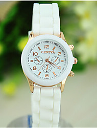 cheap -Women's European Style Fashion Cute Beautiful Silicone Watch Cool Watches Unique Watches