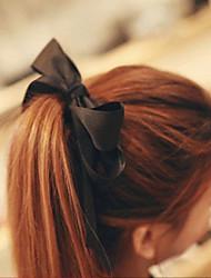Недорогие -атласная резинка для волос галстук головной убор свадебная вечеринка элегантный женственный стиль