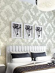 Недорогие -Цветочный принт Украшение дома Классика Облицовка стен, Нетканая бумага материал Клей требуется обои, Обои для дома