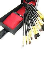 cheap -9pcs Makeup Brushes Professional Makeup Brush Set Goat Hair / Synthetic Hair / Artificial Fibre Brush Classic / Middle Brush
