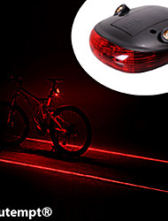 cheap -Rear Bike Light / Safety Light / Tail Light Laser / LED Cycling Waterproof, Impact Resistant, Laser Lithium Battery Battery Cycling / Bike