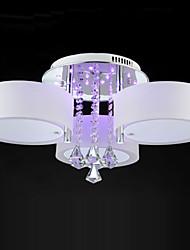 economico -Ecolight™ 3-Light Montaggio del flusso Luce ambientale - Cristallo, Con LED, 220-240V, RGB, Lampadine non incluse / 10-15㎡ / E26 / E27