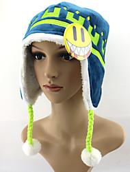 cheap -Hat/Cap Inspired by Dramatical Murder Noiz Anime Cosplay Accessories Hat Microfiber Polar Fleece Men's New