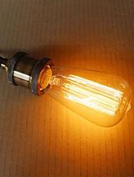 billige -st58 60w retro industri glødelampe edison stil høj kvalitet