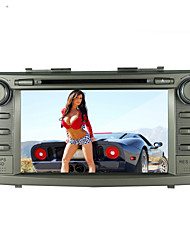 "8 ""toyota camry 2007-2011 jogador touch screen motorizada 2 din-dvd carro -GPS-bt-tv-bluetooth-fm"