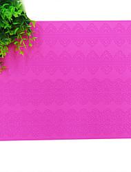 cheap -Fantasy Flower Cake Mat,Silicone Cake Lace Mat Mold,Silicone Mat Lace Border Cake Decoration,BLM-18