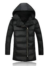 economico -MEN - Giacche e cappotti - Informale Supporto - Maniche lunghe Cotone / Misto cotone