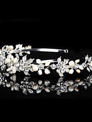 Imitation Pearl Rhinestone Tiaras Headbands Headpiece