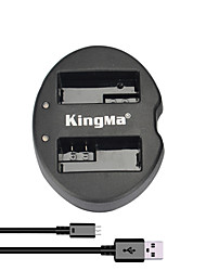 KingMa® Dual Slot USB Battery Charger for Canon LP-E8 Battery for EOS 550D 600D 650D 700D Camera