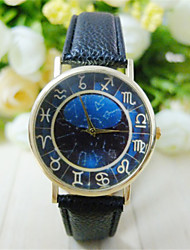 cheap -Unisex Vintage Roman Numerals Women Watch Leisure Fashion Students WristWatch Constellation Quartz Watch Wrist Watch Cool Watch Unique Watch
