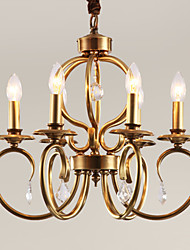 cheap -Chandeliers / Pendant Lights Mini Style Traditional/Classic Bedroom / Dining Room / Kitchen / Study Room/Office Metal