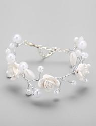 cheap -Women's Cuff Bracelet Imitation Pearl/Alloy Imitation Pearl