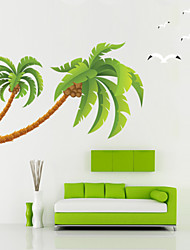 Beautiful Coconut Tree Removable Wall Stickers Decorative Wall Stickers