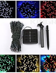 cheap -12M 100LED Solar String Lights Decoration Lights Waterproof Lights