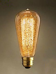 cheap -ST64 Spray Gold Retro Nostalgia Bar Decoration Light Bulbs