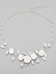 Women's Imitation Pearl / Alloy Necklace Wedding / Engagement / Birthday / Special Occasion Imitation Pearl