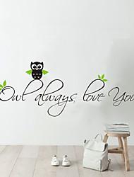 povoljno -Životinje Romantika Moda Riječi i citati Crtani film Zid Naljepnice Riječi i navodi zidne naljepnice Dekorativne zidne naljepnice, Vinil
