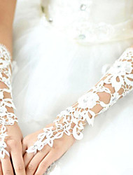 cheap -Lace Elbow Length Glove Bridal Gloves Classical Feminine Style