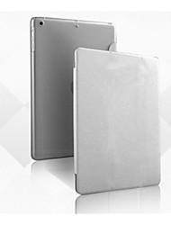 Недорогие -Кейс для Назначение Apple со стендом / Оригами Чехол Однотонный Кожа PU для iPad Air 2