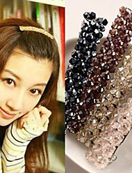 cheap -Korea Original Four Rows Of Crystal Hairpin Headdress New  Seven Color Optional