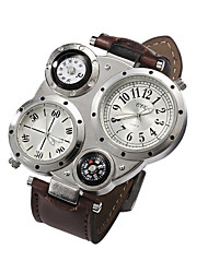 cheap -Men's Wrist Watch Casual Watch Leather Band Charm Black
