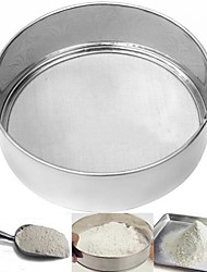 cheap -5In Stainless Steel Mesh Flour Sifter Sieve Strainer Cake Baking Kitchen Practical
