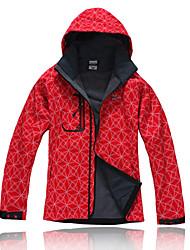 billige -Dame Trekking-jakke Udendørs Vinter Vandtæt Hold Varm Vindtæt Isolerende Regn-sikker Påførelig Vinterjakke Softshell-jakker Jakke Toppe
