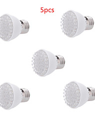 cheap -5pcs 2W E27 38LED 100LM 28Red+10Blue Plant Grow Light Bulb Garden Hydroponic Lamp(AC220V)