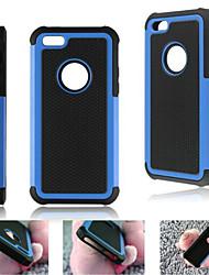 ibrido caso armatura duro pesante copertina rigida antiurto per il iphone 5 quater (colori assortiti)